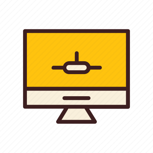 data, database, monitor, network, storage icon