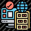 domain, hosting, mainframe, server, service