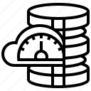 analyze, maintenance, optimization, performance, program icon