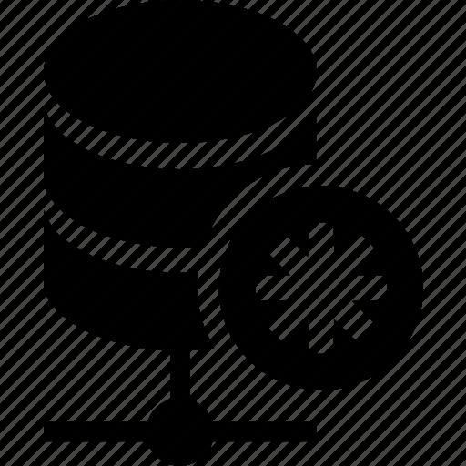 asterisk, database, hosting, server, storage icon
