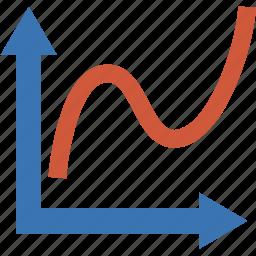 chart, curve, diagram, figure, graph, pattern, plot, schedule, statistics, timetable, xy icon