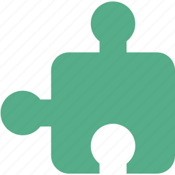 component, element, game, part, plug-in, plugin, puzzle icon