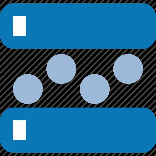 bind, bound, data, databank, database, gathering icon