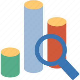 chart, charts, diagram, explore, explorer, graph, graphs, statistics icon