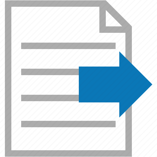 document, documents, export, file, page, paper, text icon