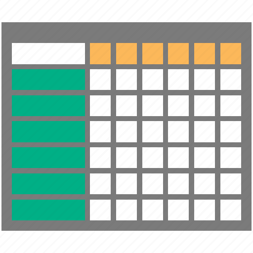 add, cells, datasheet, table icon