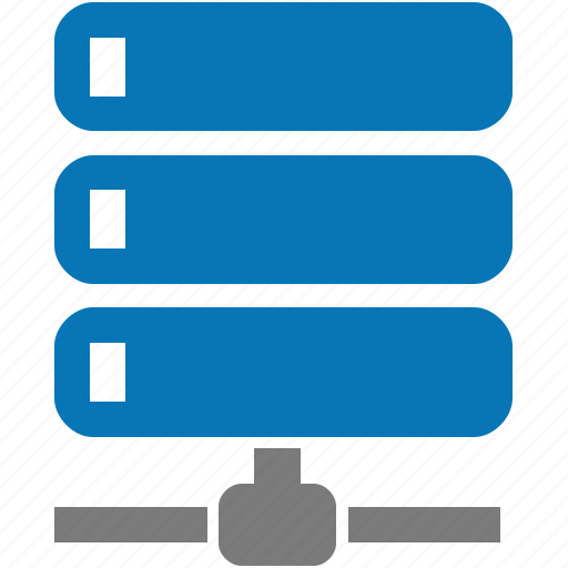connection, connections, data, databank, database, network, node, server icon