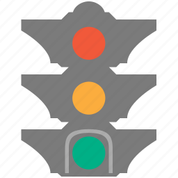 light, semaphone, semaphore, traffic, traffic light, transport, transportation icon