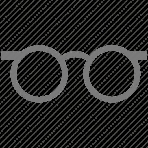 blind, explore, eyeglasses, eyewear, glasses, goggle, lens, optics, spectacles, view icon