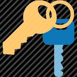 access keys, key, open lock, password, safety, security, unlock icon