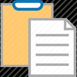 clipboard, copy, document, duplicate, file, paper, paste icon