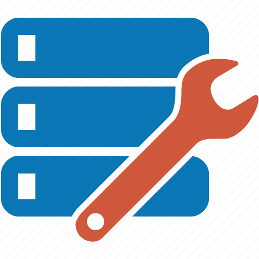 configuration, database, repair, setting, settings, system, tool icon