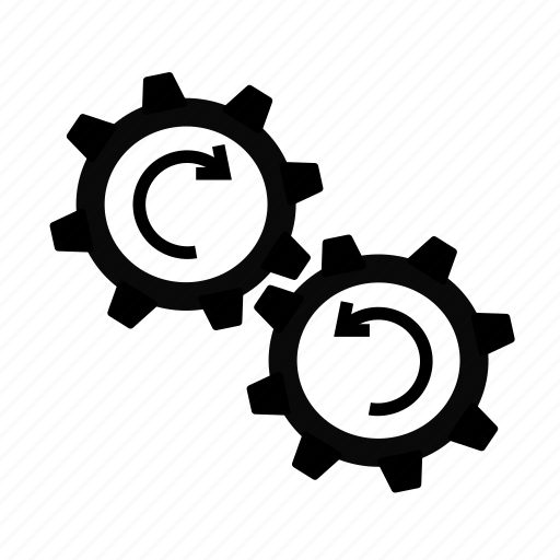Cog, cogs, loading, processing, working icon - Download on Iconfinder