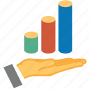 analytics, area, chart, charts, graph, reports, statistics icon
