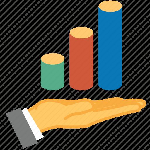 analytics, area, chart, charts, graph, reports, statistics icon