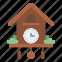 cuckoo, clock, time, schedule