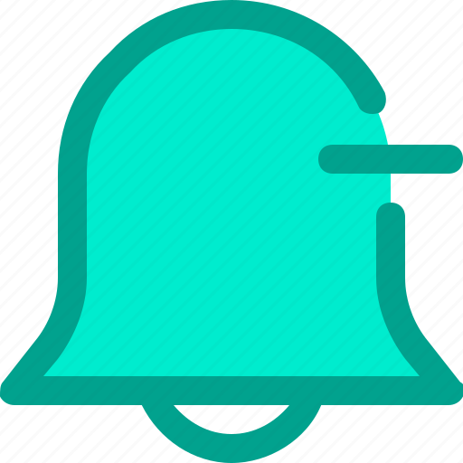 alarm, bell, minus, notification icon