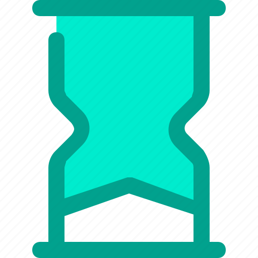 clock, end, hourglass, time icon