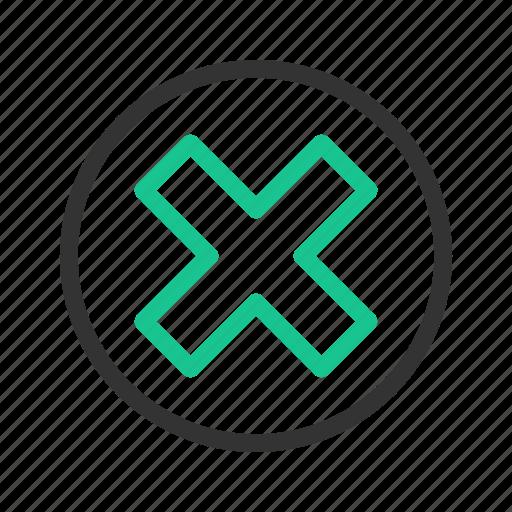 block, cancel, stop icon