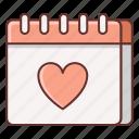 anniversary, dating, heart