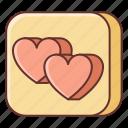 app, dating, love icon