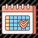 calendar, date, dating