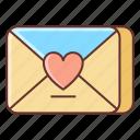 dating, letter, love