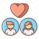 dating, love, match icon