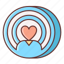 dating, location, nearby icon