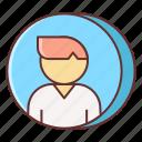 person, profile, user
