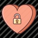 dating, heart, unblock