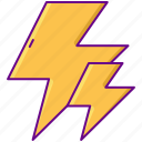 boost, electricity, power icon