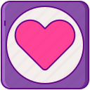 app, dating, love icon