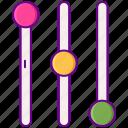 filter, filtering, sort icon