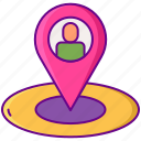 location, nearby, pin