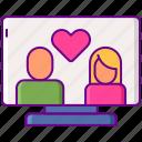 dating, internet, online