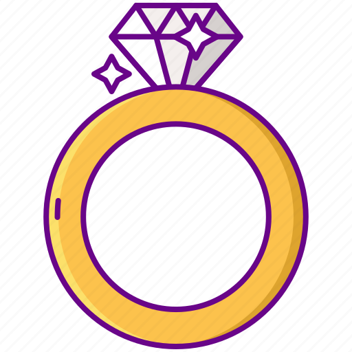 Diamond, jewel, ring icon - Download on Iconfinder