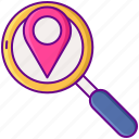 distance, find, search