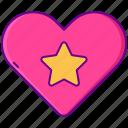 like, love, super icon