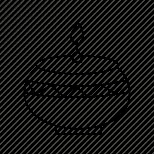 Celebration, diwali, diya icon - Download on Iconfinder
