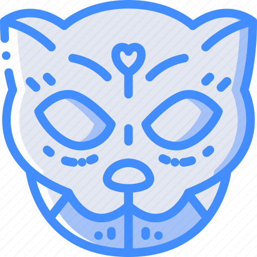 cat, day of the dead, dead, mexican, mexico, tradition icon