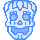 mexican, skull, mexico, day of the dead, dead, tradition icon
