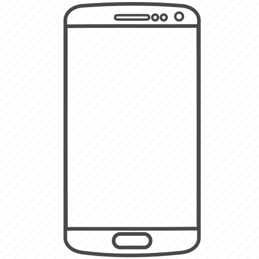 cell, cellphone, phone, samsung, smartphone icon