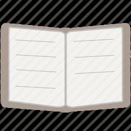 book, read, study icon
