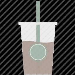 coffee, drink, icecoffee icon