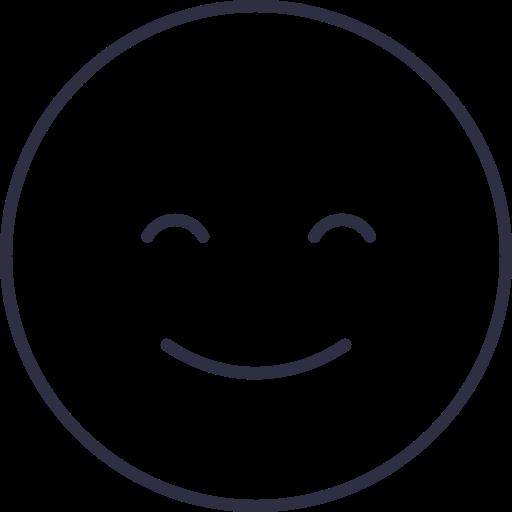 happy, happy face, happy icon, happy smile icon icon