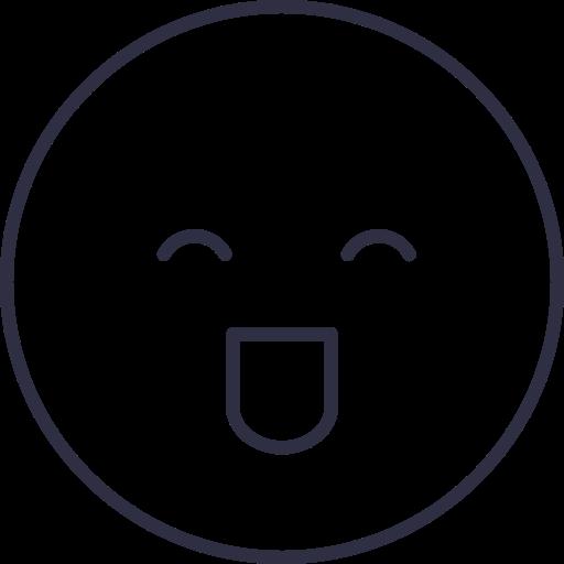 laugh, laugh face, laught emoji, laught icon, smile icon