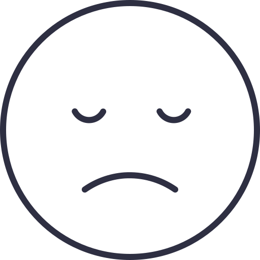 Not Happy Emoji Not Happy Icon Sad Sad Face Sad Icon Unhappy Icon Icon