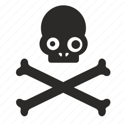 bones, death, head, pirate, sceleton, tattoo icon