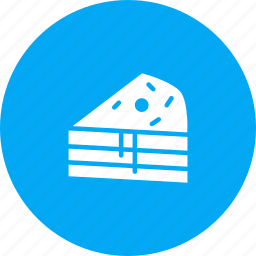 cake, cherry, dessert, pie, slice, sweet, treat icon